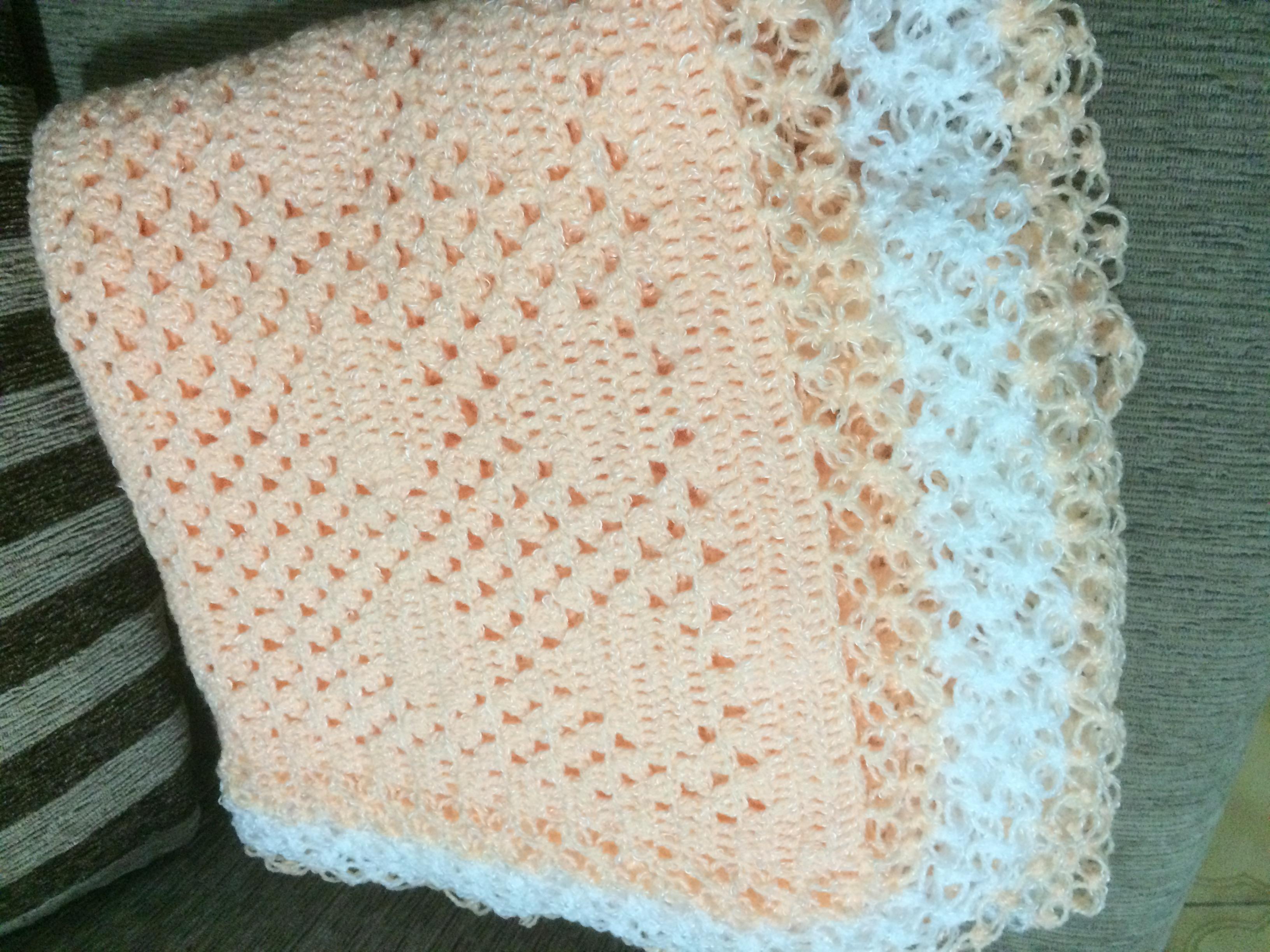 Manta de Bebe de Croche | Elo7