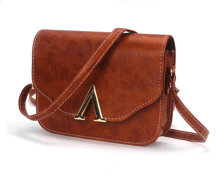 Bolsa De Couro Legitimo Pequena : Bolsa pequena transversal em couro pu das bolsas e
