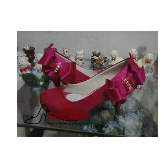 453a50e9ca4c Sapatilha Verniz Rosa Pink | Elo7