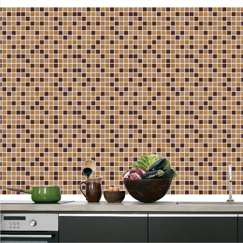 Artesanato Tecido ~ Adesivo Pastilhas Cozinha M10 QuartinhoDecorado Elo7