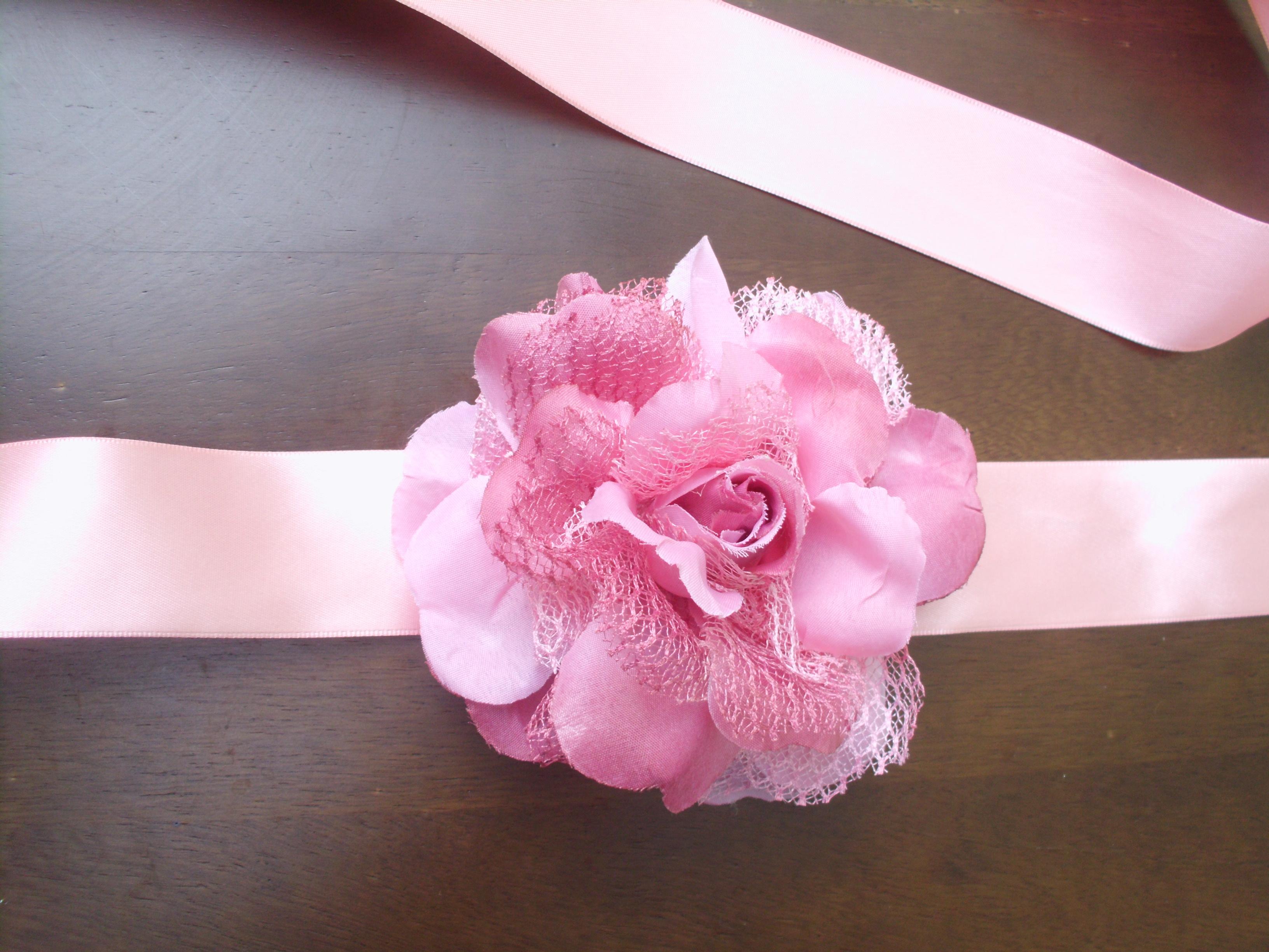 Chapeu Florido Cor de Rosa  ff06819f86b