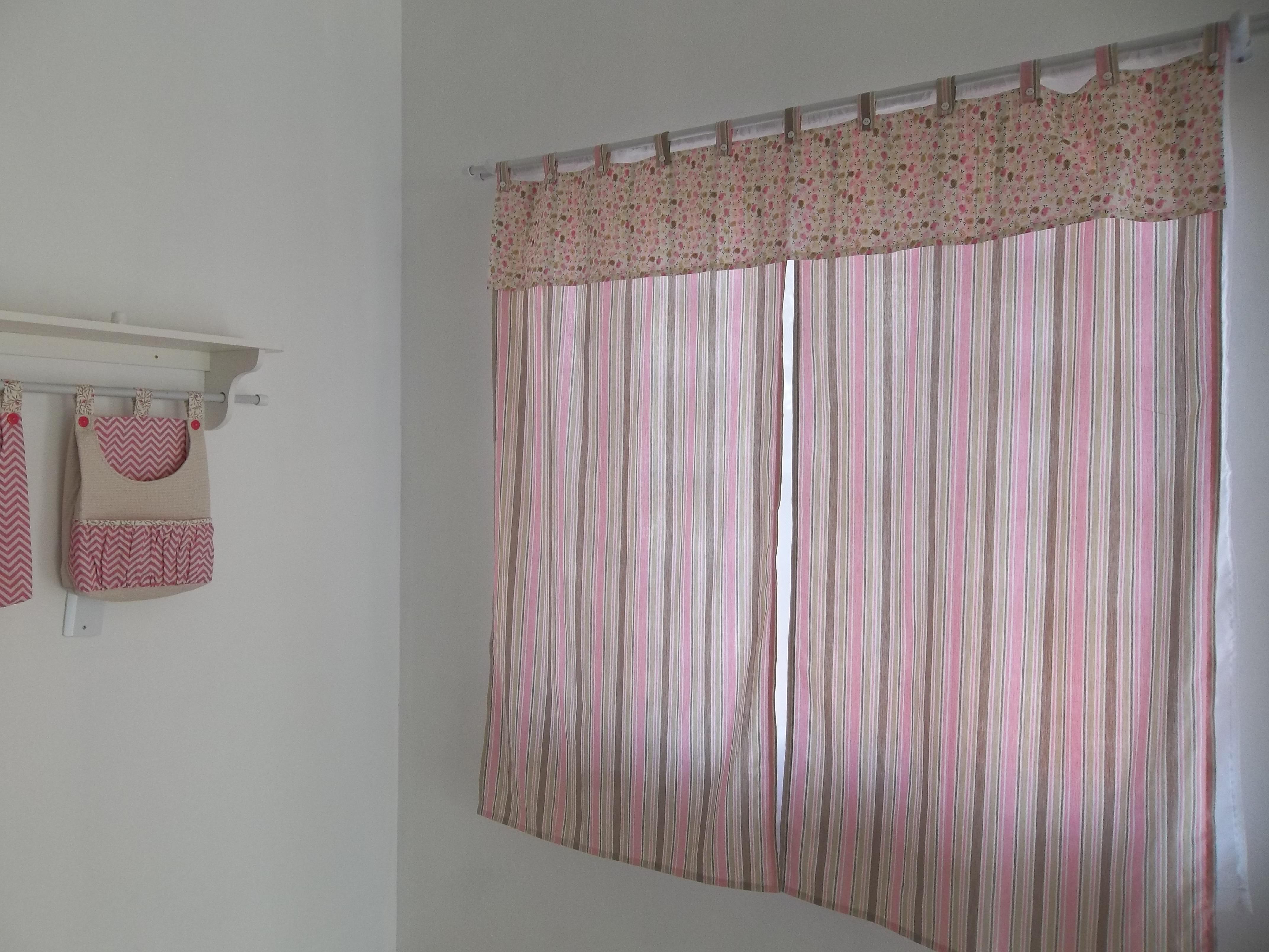 cortina para quarto de bebê  Zana baby enxoval  Elo7