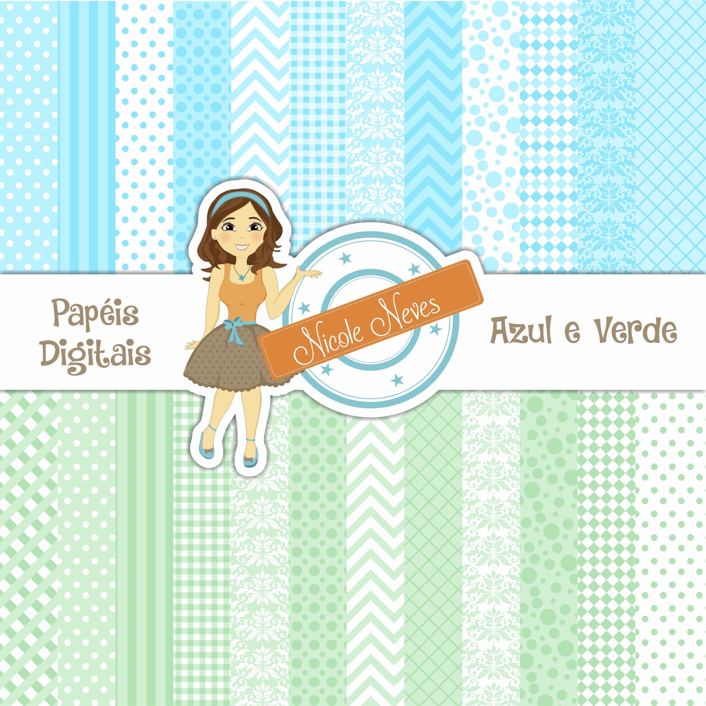 Kit Digital Azul e Verde  1bd67016faba6