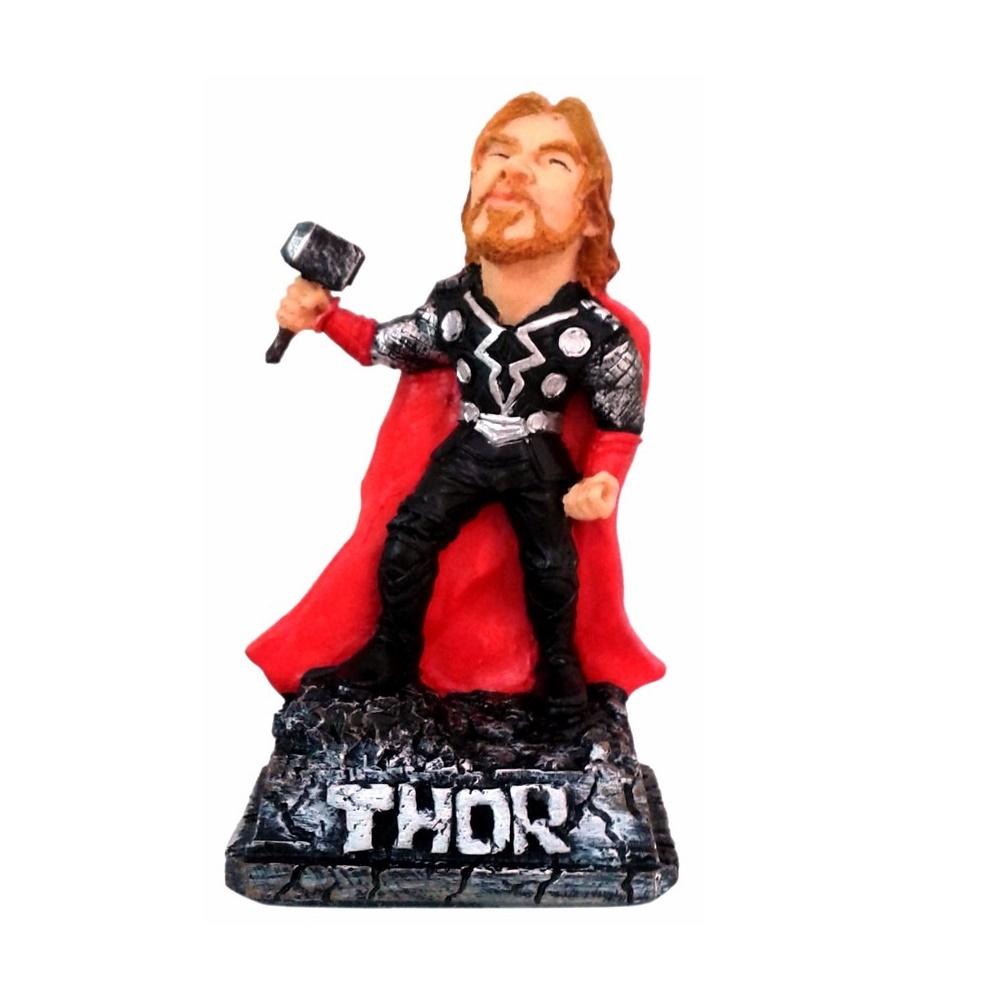 Boneco Estátueta Thor Caricatura No Elo7 Arte Luz 73045f