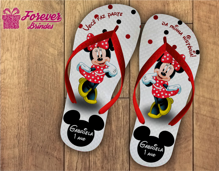 341edaecd CHINELO PERSONALIZADO INFANTIL - MICKEY no Elo7 | FOREVER BRINDES CHINELOS  (7309D4)