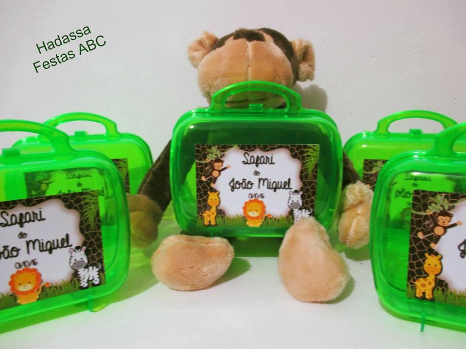 4074941a2 Mini maleta personalizada no Elo7 | FESTA & CIA (731939)