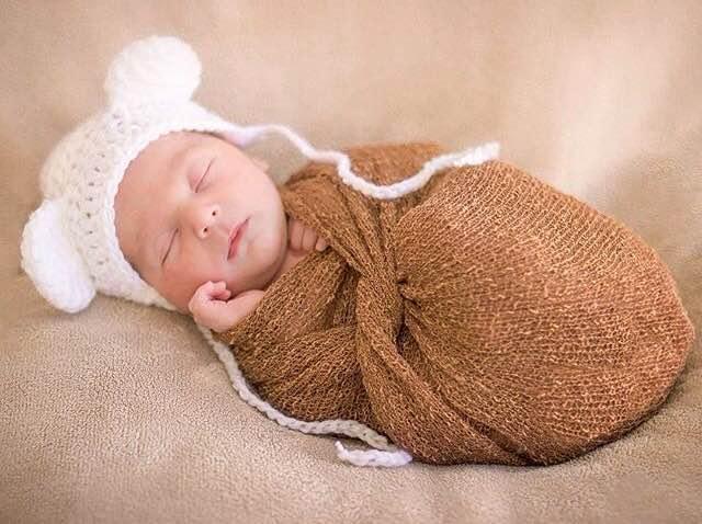 Kit 3 toucas ursinho recém nascido - acessório newborn no Elo7 ... 75006680038