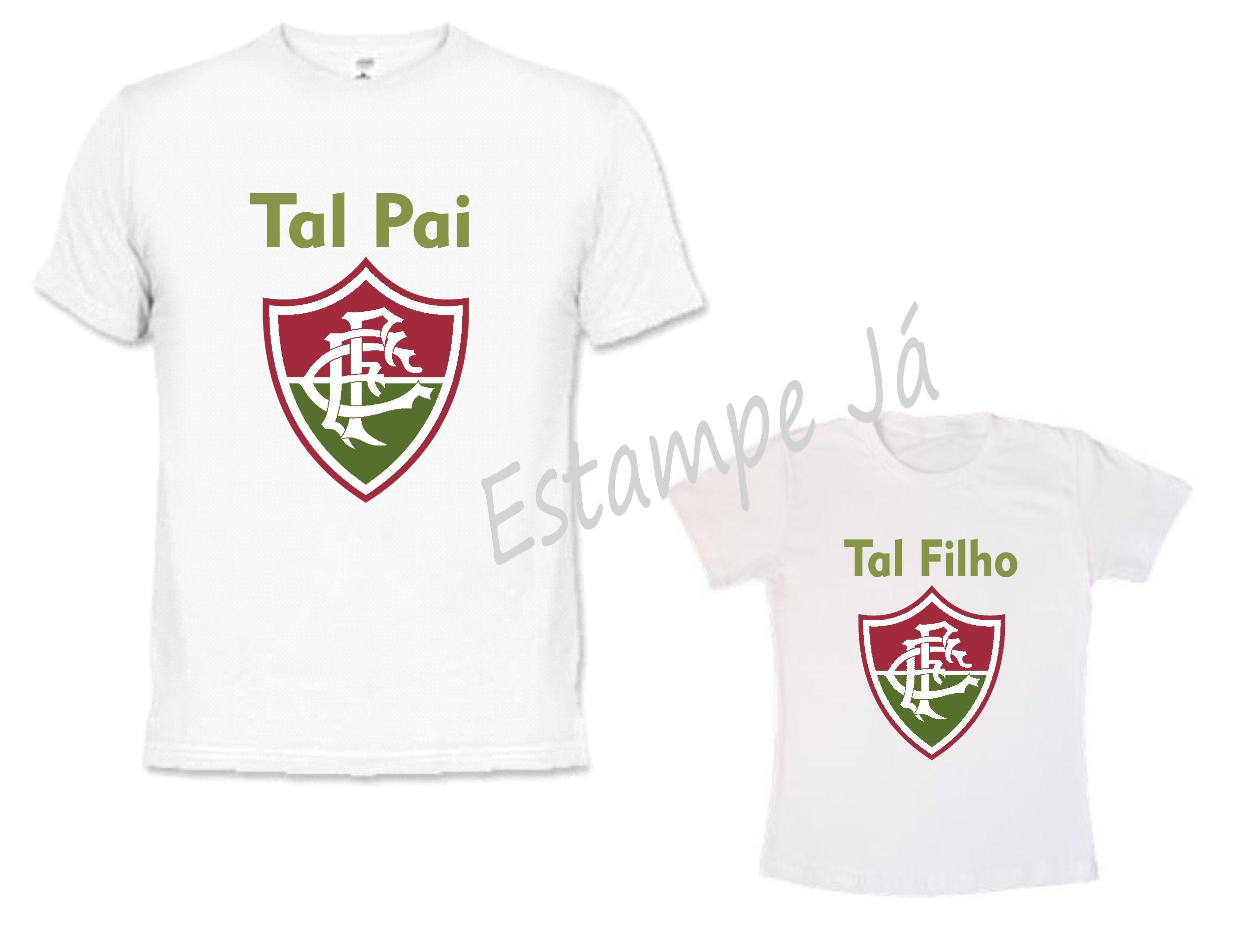 8d031866c8 Camisetas Personalizadas do Fluminense para o Dia dos Pais no Elo7 ...