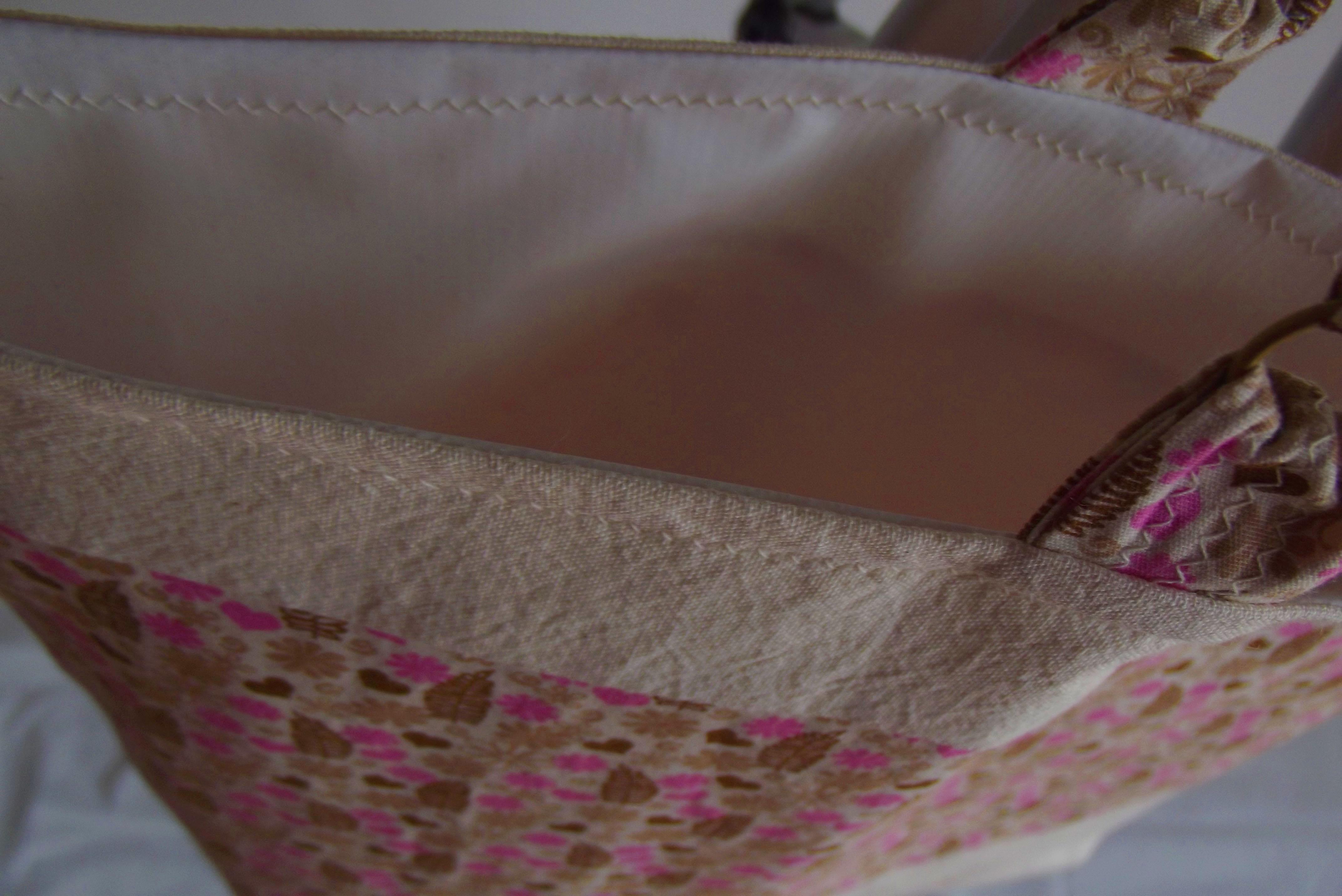 Bolsa De Tecido De Algodão Cru : Bolsa de algod?o cru estampada mat?ria prima ateli? elo