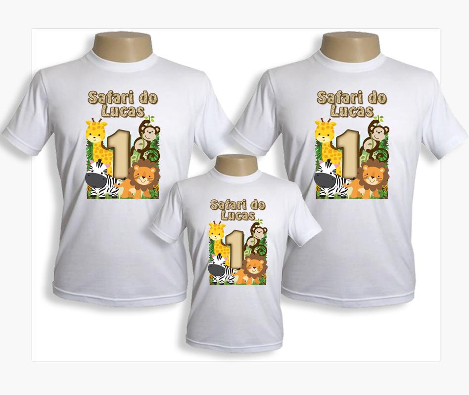Kit de camisetas Carros no Elo7  2cf1fe89290