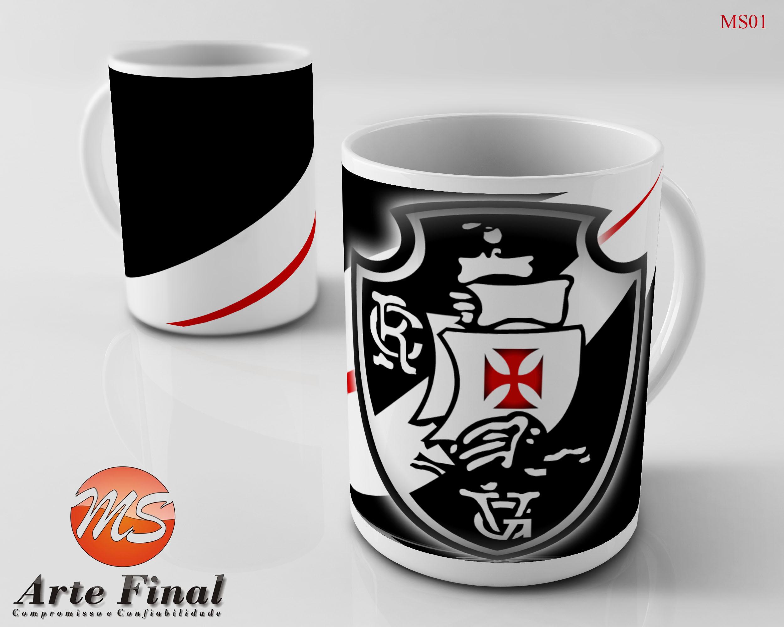 c0987e8ff1556 Caneca Personalizada Ceramica Vasco