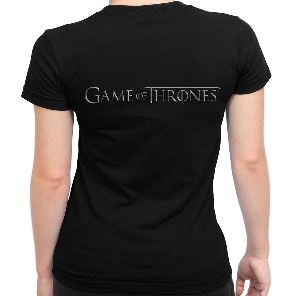 c8a8a00ca Baby Look Feminina Game of Thrones Corvo no Elo7