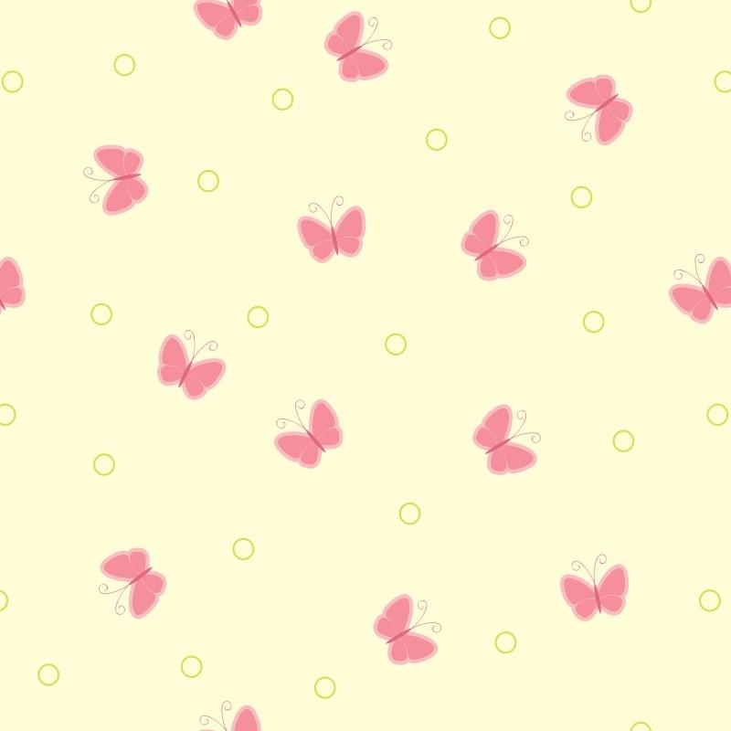 Papel de parede borboletas simples e bol jmi decor elo7 - Papel pared online ...