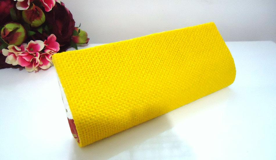 Bolsa De Mão Amarela : Bolsa de m?o amarela dagi bolsas e clutches elo