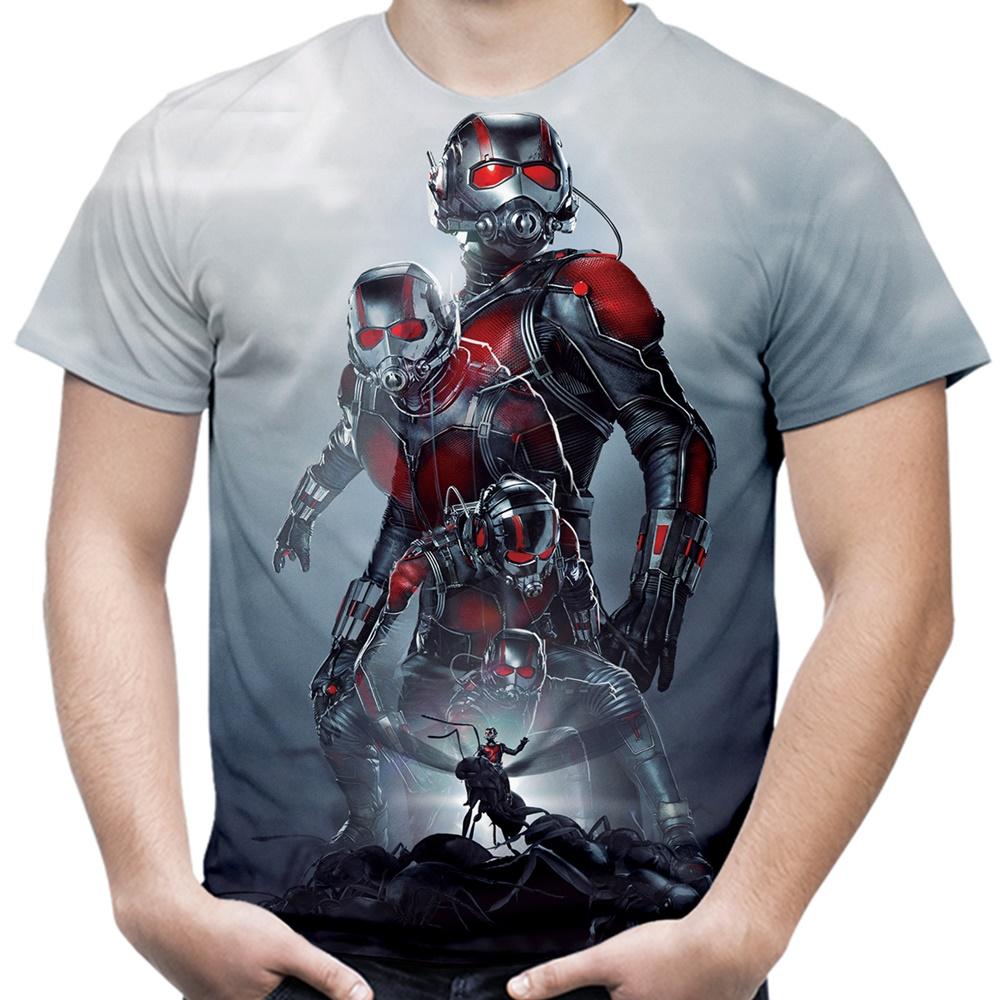 Camiseta Camisa Masculina Homem Formiga Filme Lancamento  184e73a479358