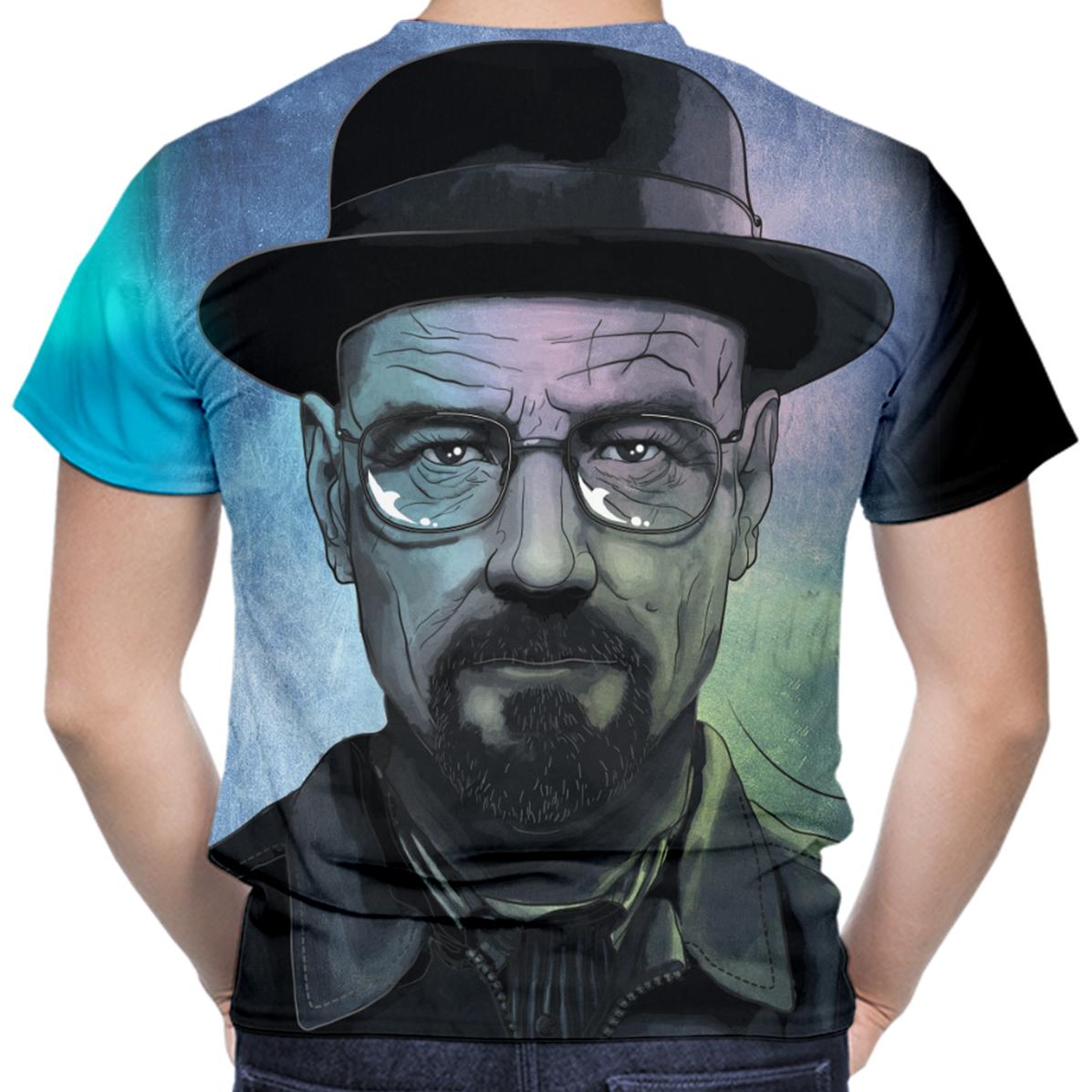 1ef5ecbd1 Camiseta Masculina Breaking Bad MD04 no Elo7