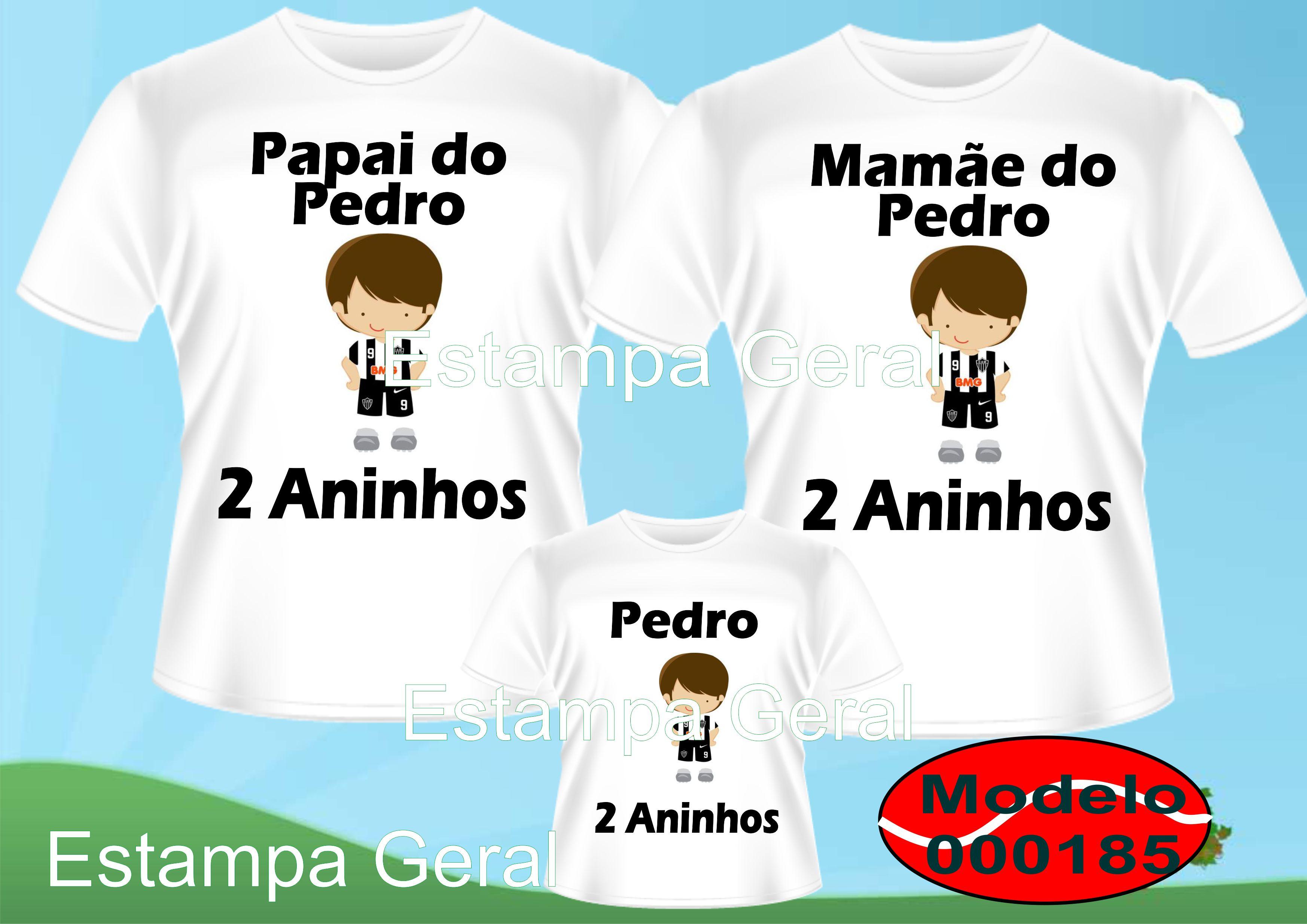 Camiseta Personalizadas Time c 3 no Elo7  a8253896d78