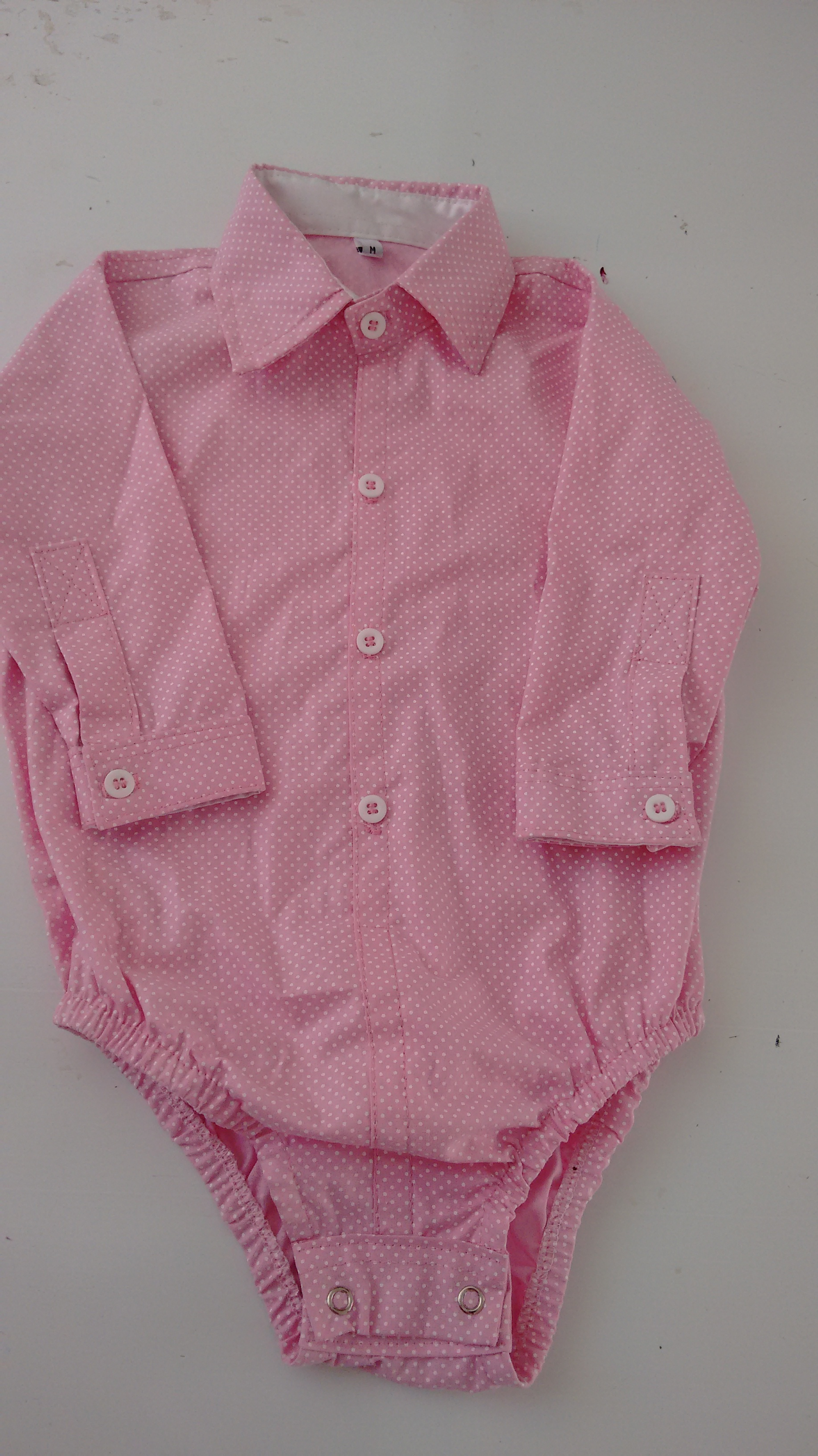 7da0f7b67b41 Body Camisa Social Rosa Meninas | Elo7