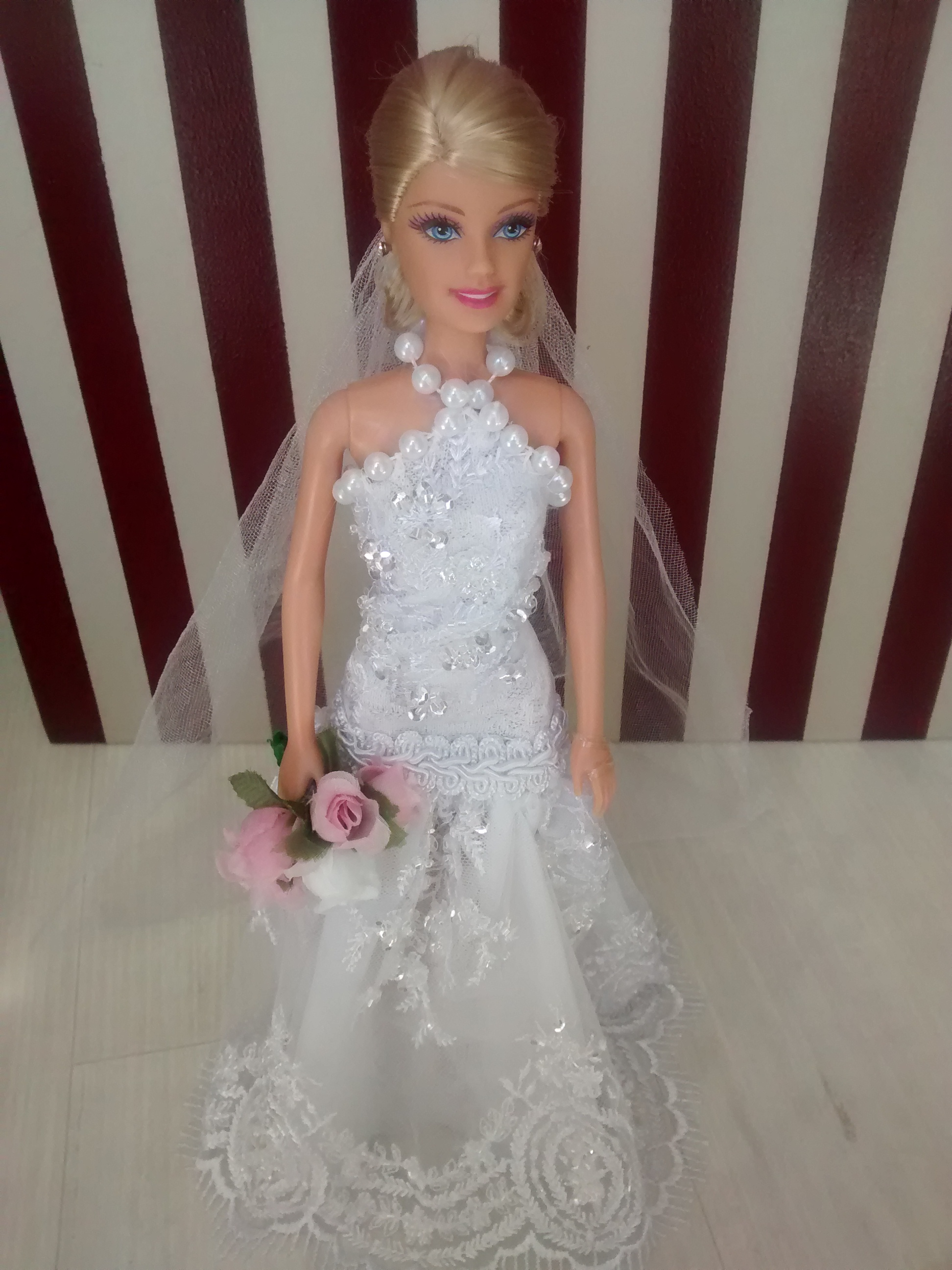 Barbie Noiva ~ Barbie Noiva Pearl Luigi Fashion Dolls Elo7