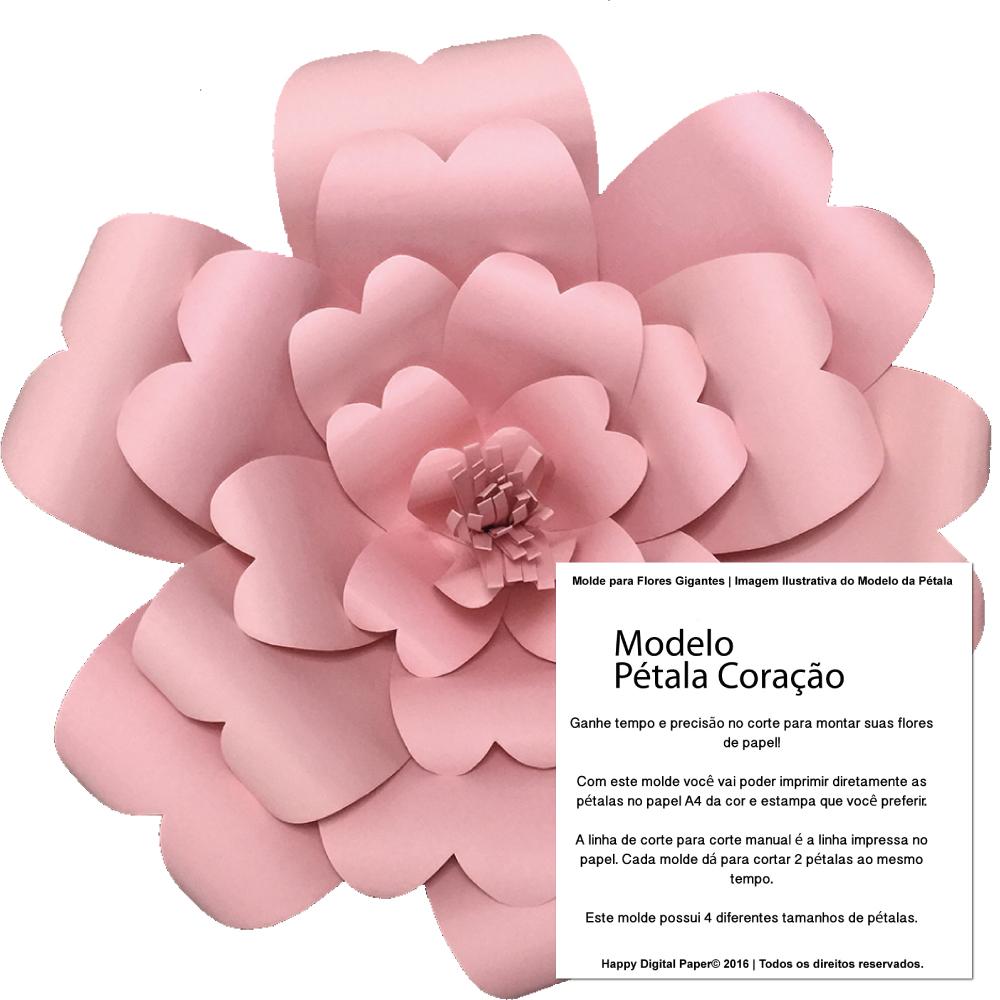 Moldes Para Flores De Cartulina. Flor De Papel Paso A Paso Origami ...