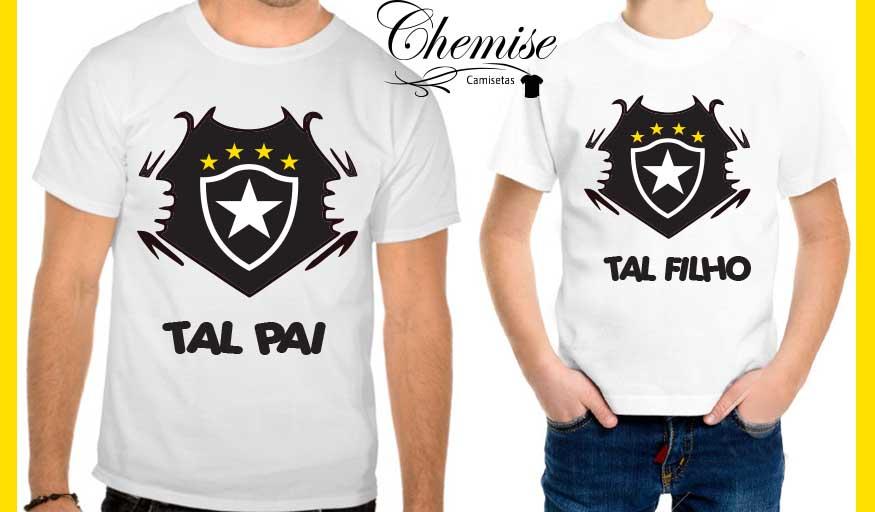 Camiseta e Body Botafogo Pai e Filho  18ee084b78dd4