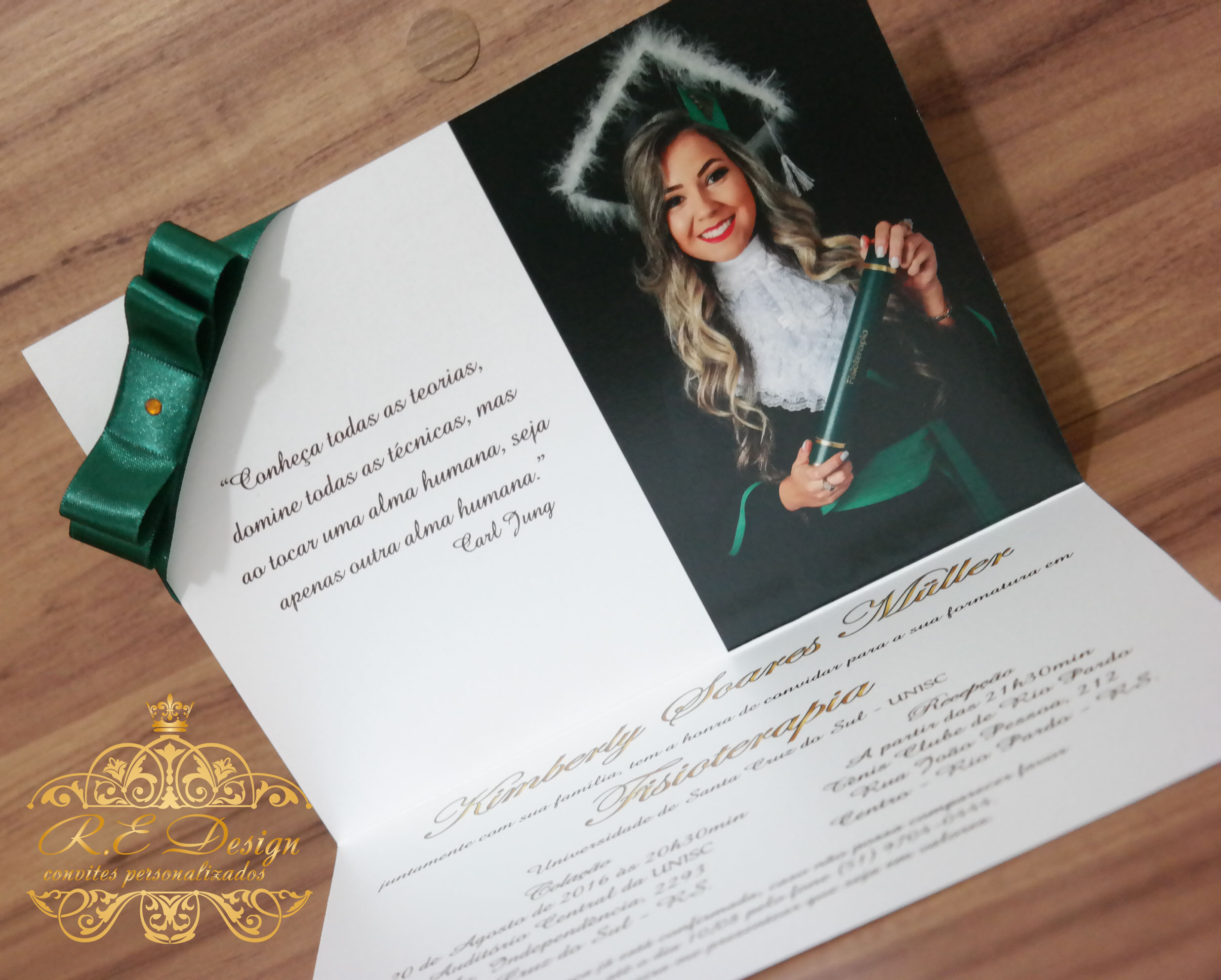 Formatura Convite Islanuevodiarioco