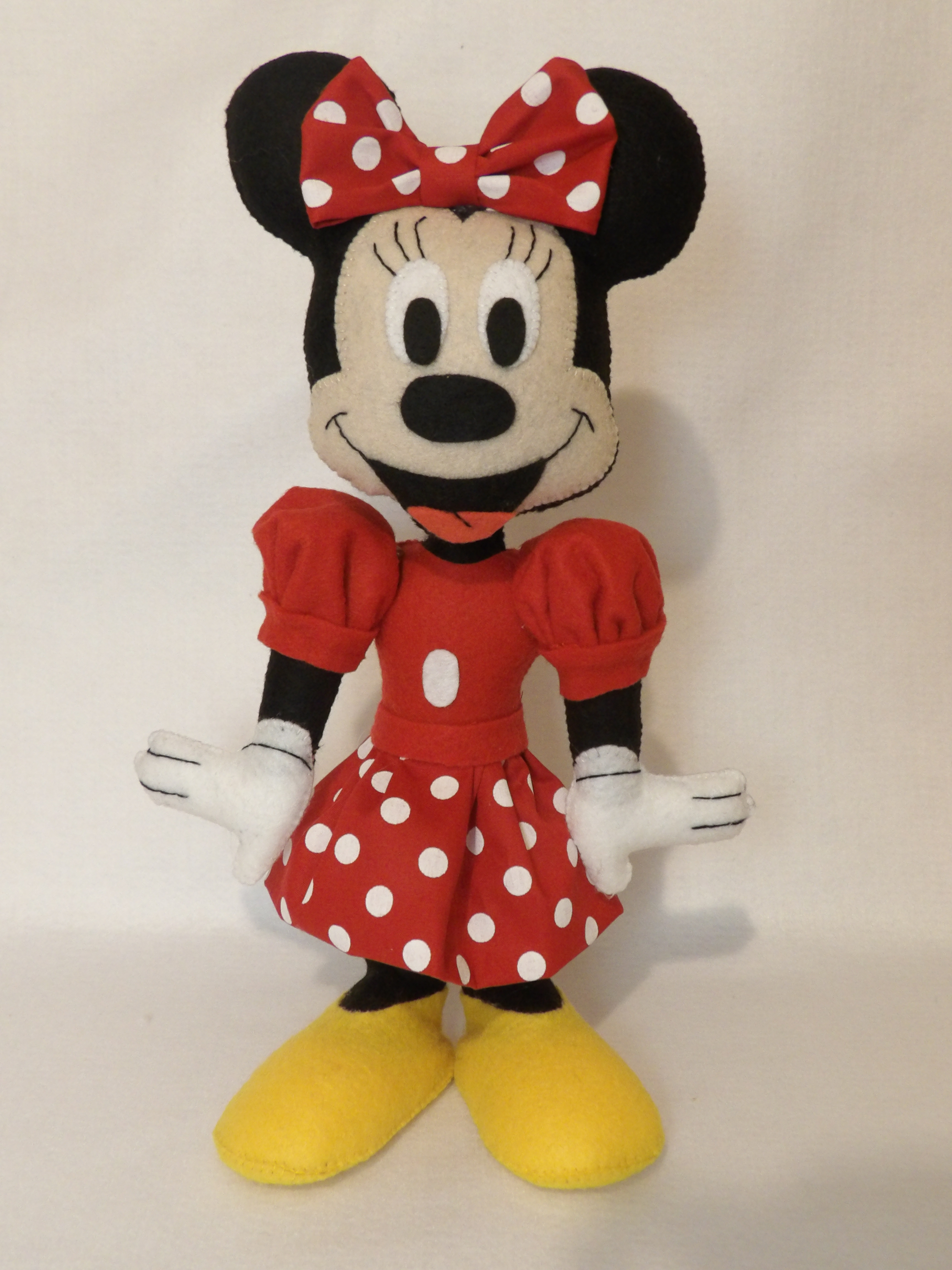 Muitas vezes Turma do Mickey em Feltro | Sentimento em Feltro - | Elo7 CY93