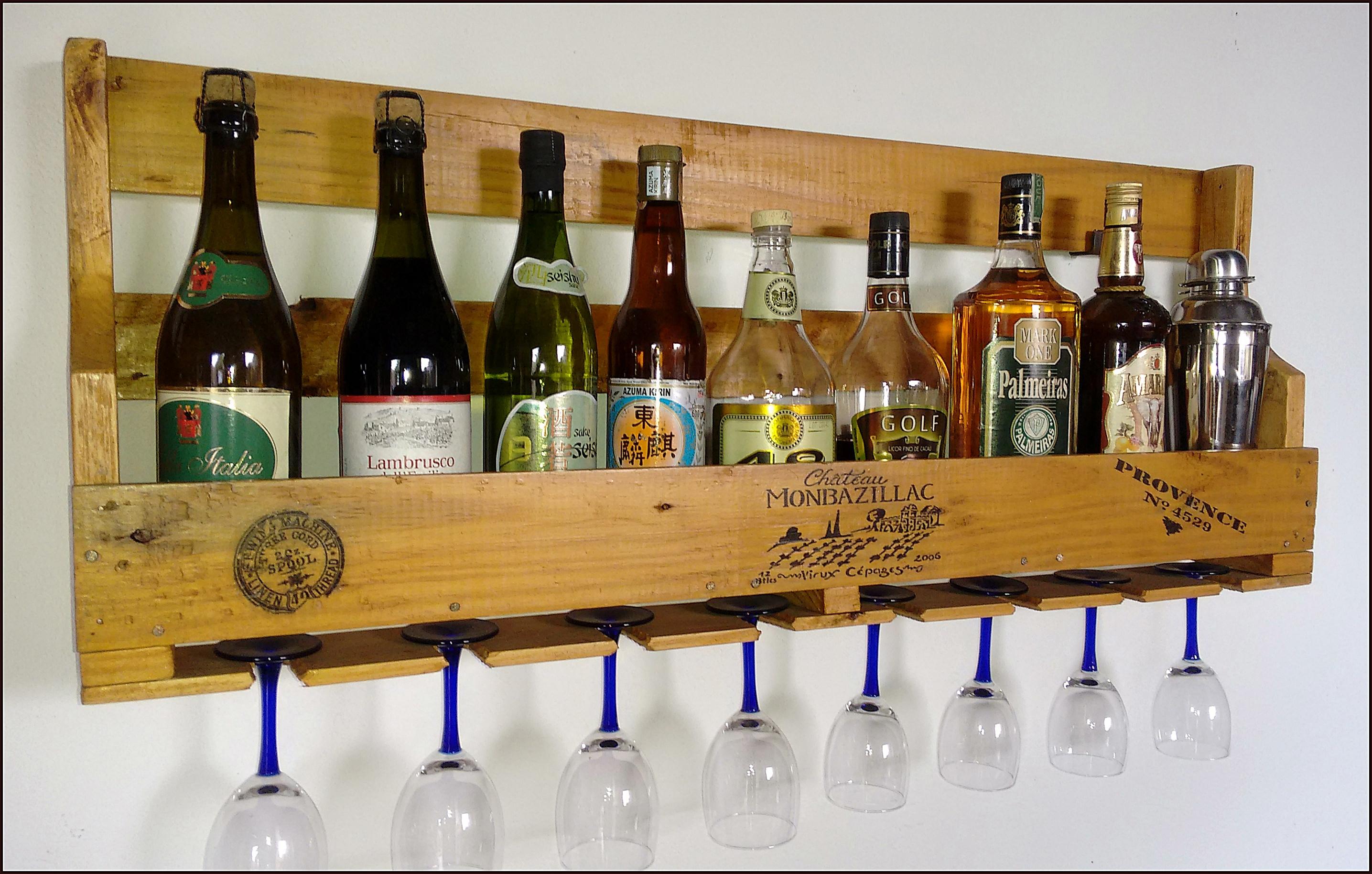 Barzinho de parede r stico alpha ateli elo7 for Bar para casa rustico