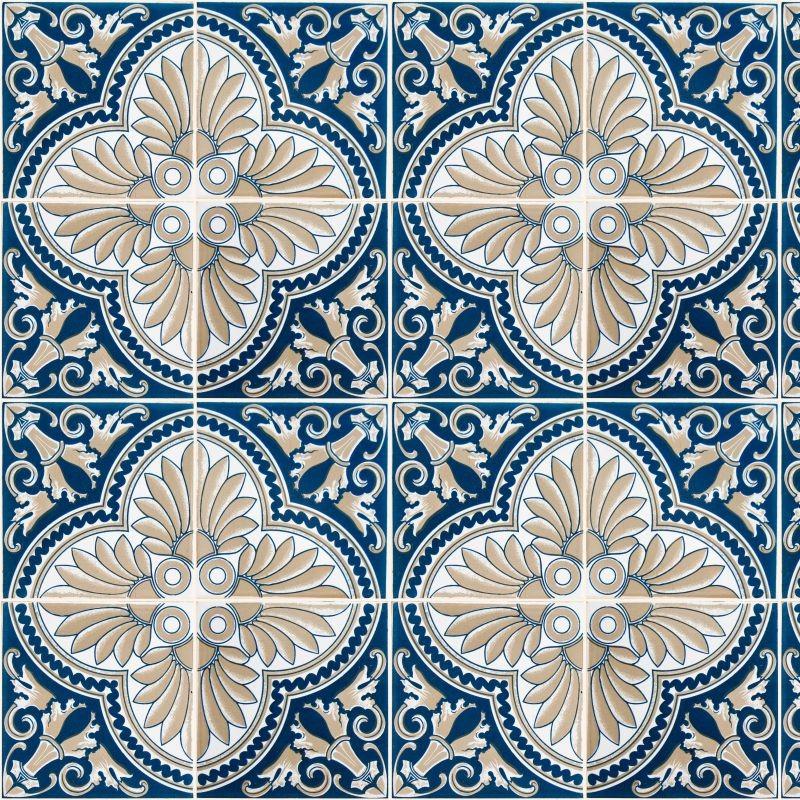 Azulejo hidraulico textura azulejos cermicos e hidrulicos - Azulejos colorker ...