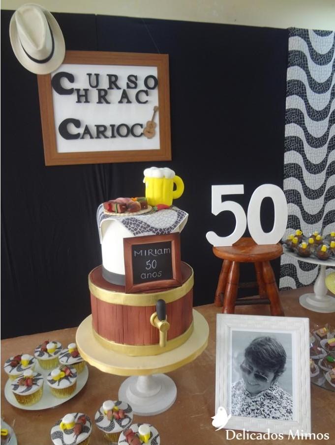 Populares Decoração Tema Churrasco Carioca no Elo7 | Delicados Mimos RJ (771085) DR39