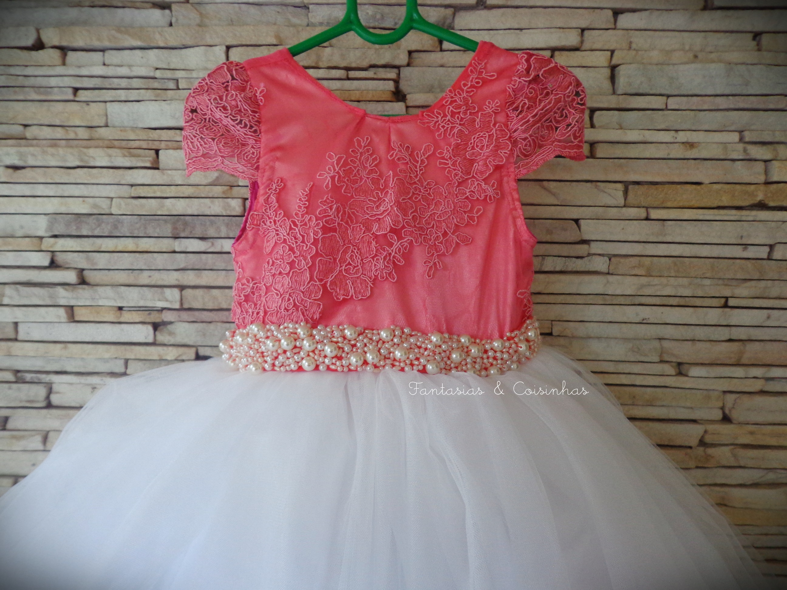 Vistoso Vestidos De Dama De Coral Larga Componente - Colección de ...