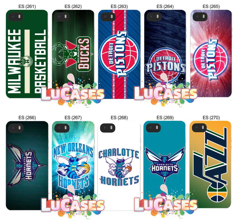Capa Capinha NBA Bucks Hornets Pistons no Elo7  55873ed98f708