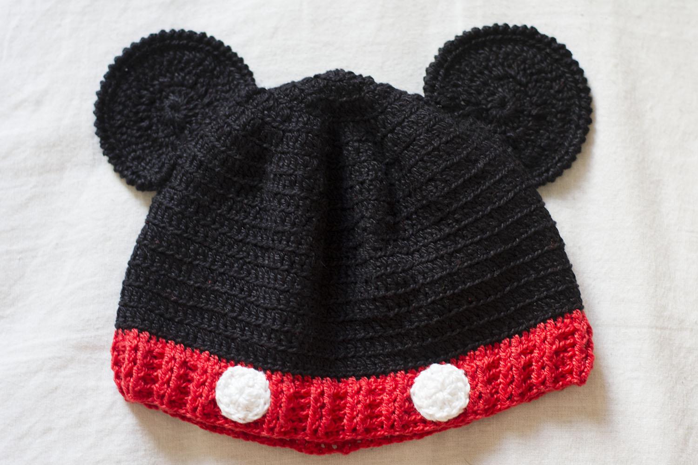 Touca Mickey em Crochê no Elo7  10a931118fc