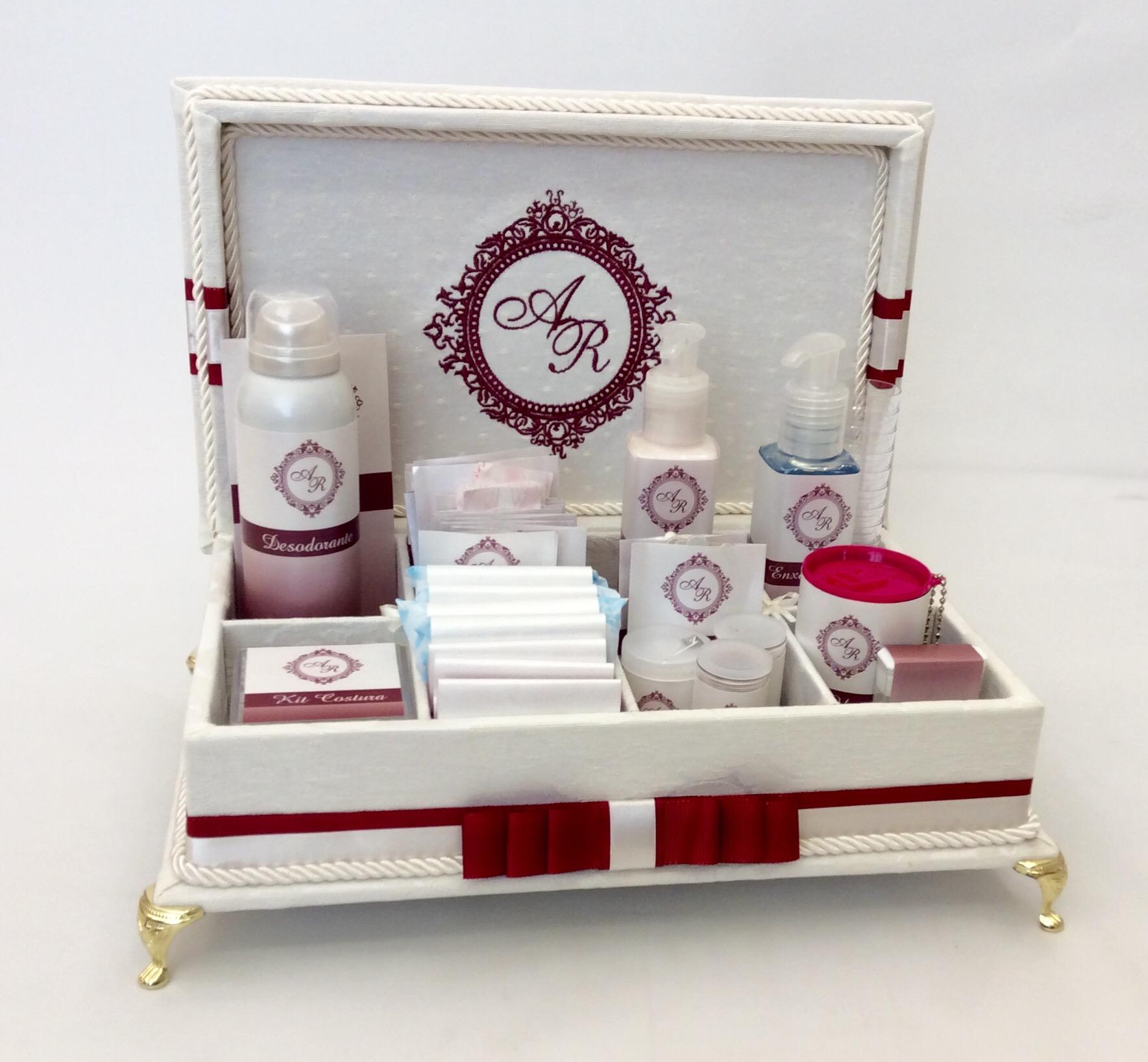 Kit Banheiro Para Casamento Goiania : Caixa kit toillet para casamentos divina elo