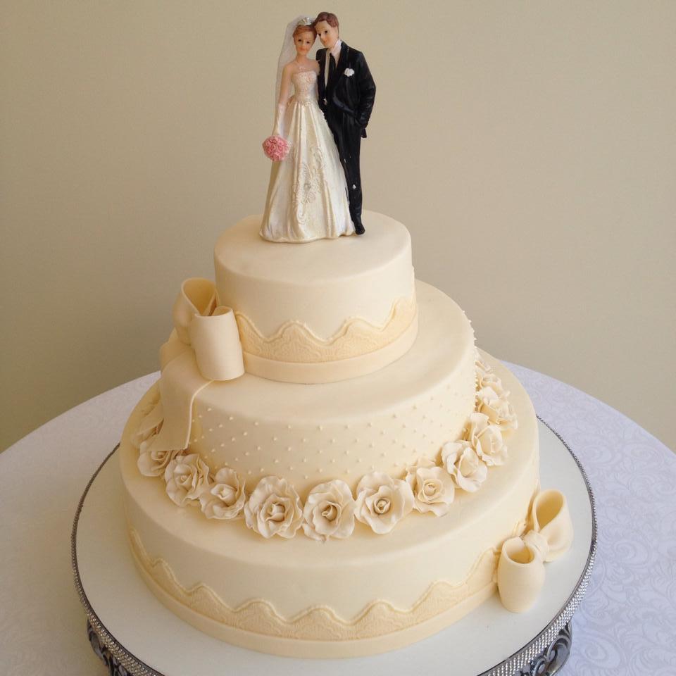 Bolos de casamento no Elo7 | mel e cakes (781593)