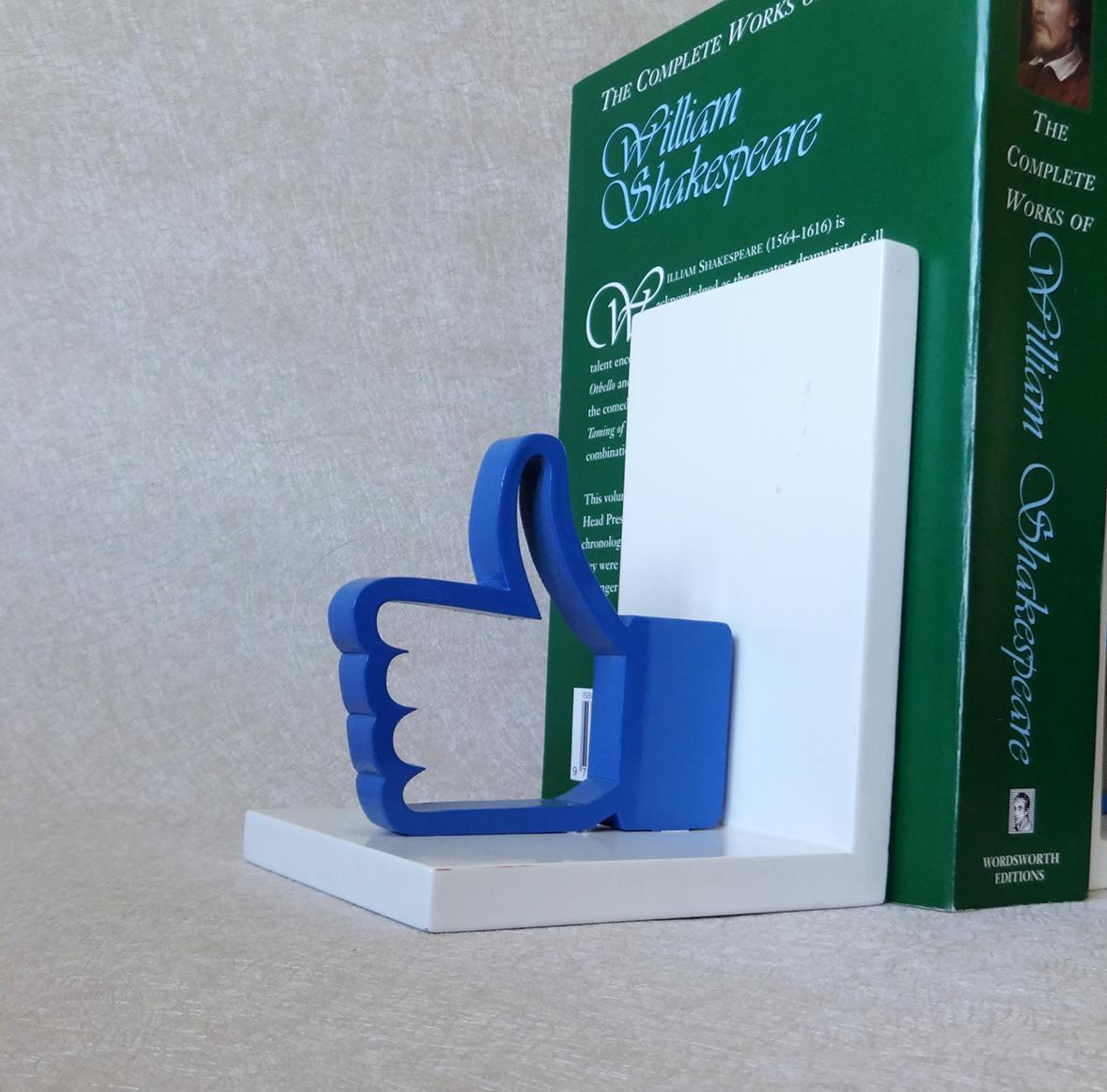Adesivo De Espelho Para Banheiro ~ CURTIR aparador de livros em mdf Estrela Estrelinha Elo7