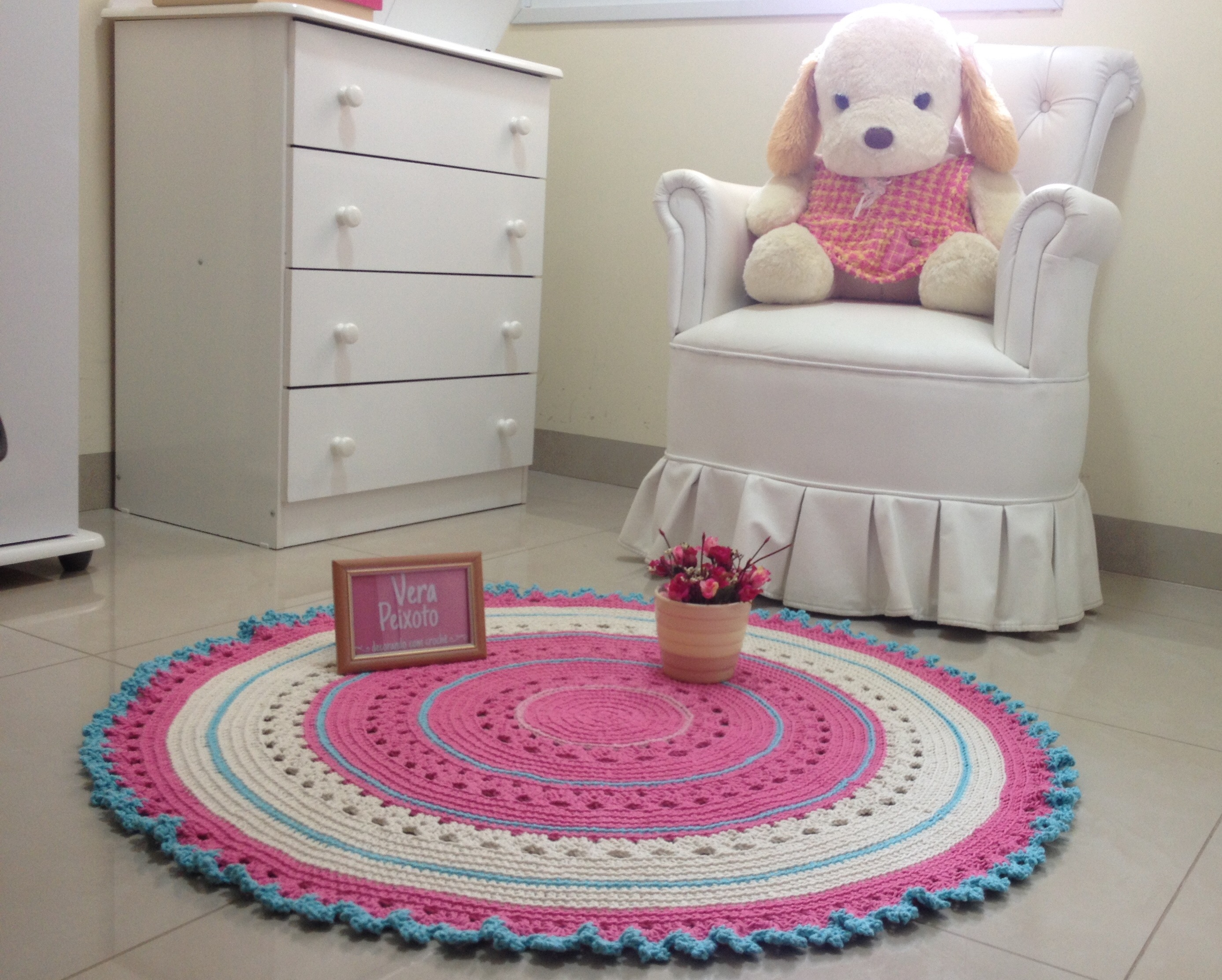 tapete rosa e azul baby maria fernanda ateli vera. Black Bedroom Furniture Sets. Home Design Ideas