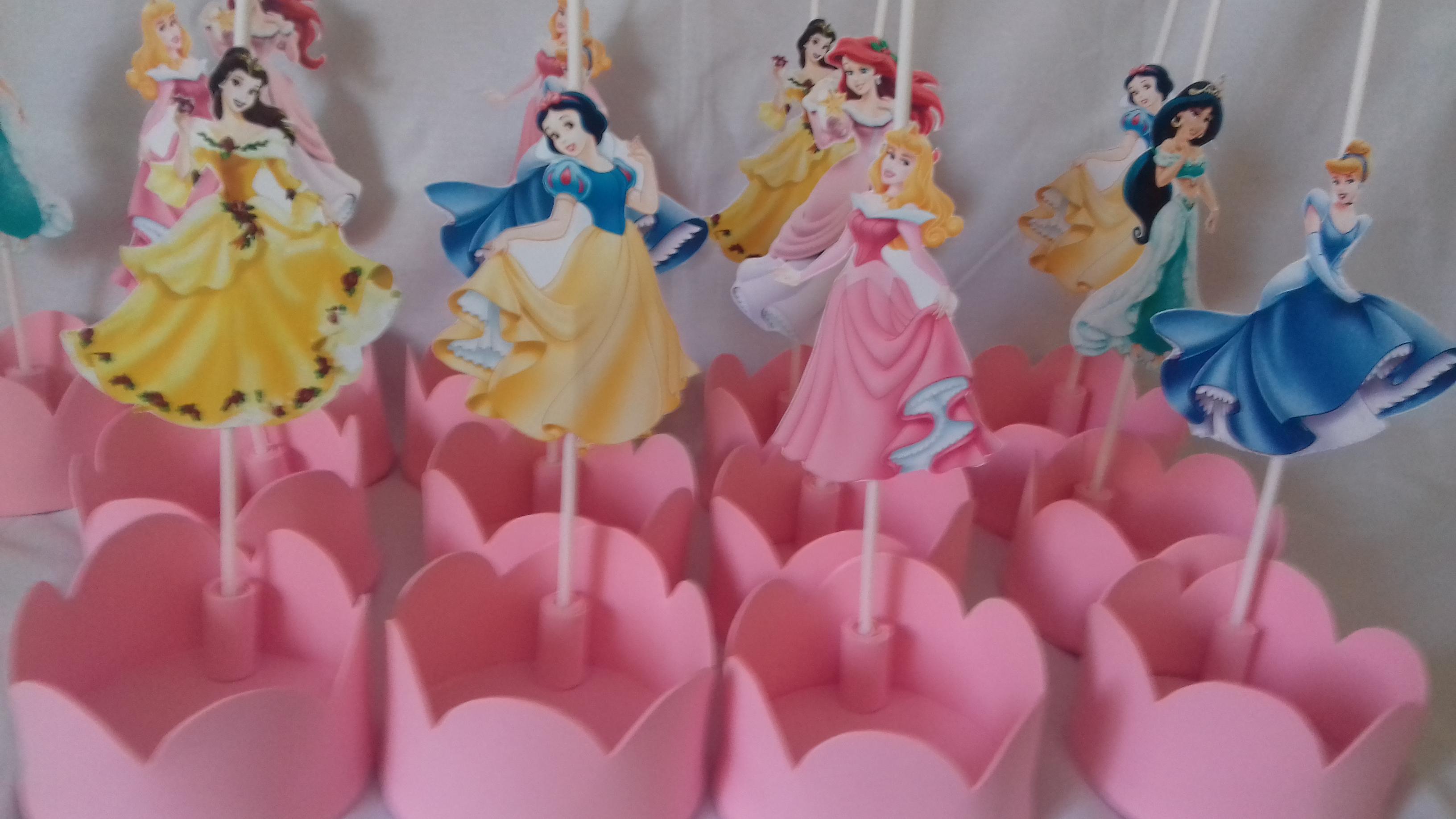 Muitas vezes Centro de Mesa Princesas Disney no Elo7 | Correia & Costa  OT72