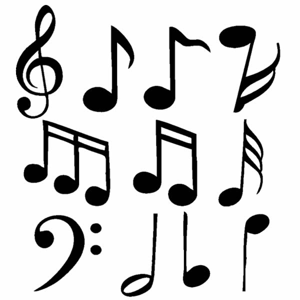 Adesivo Decorativo Notas Musicais No Elo7 Ld Creativity Store