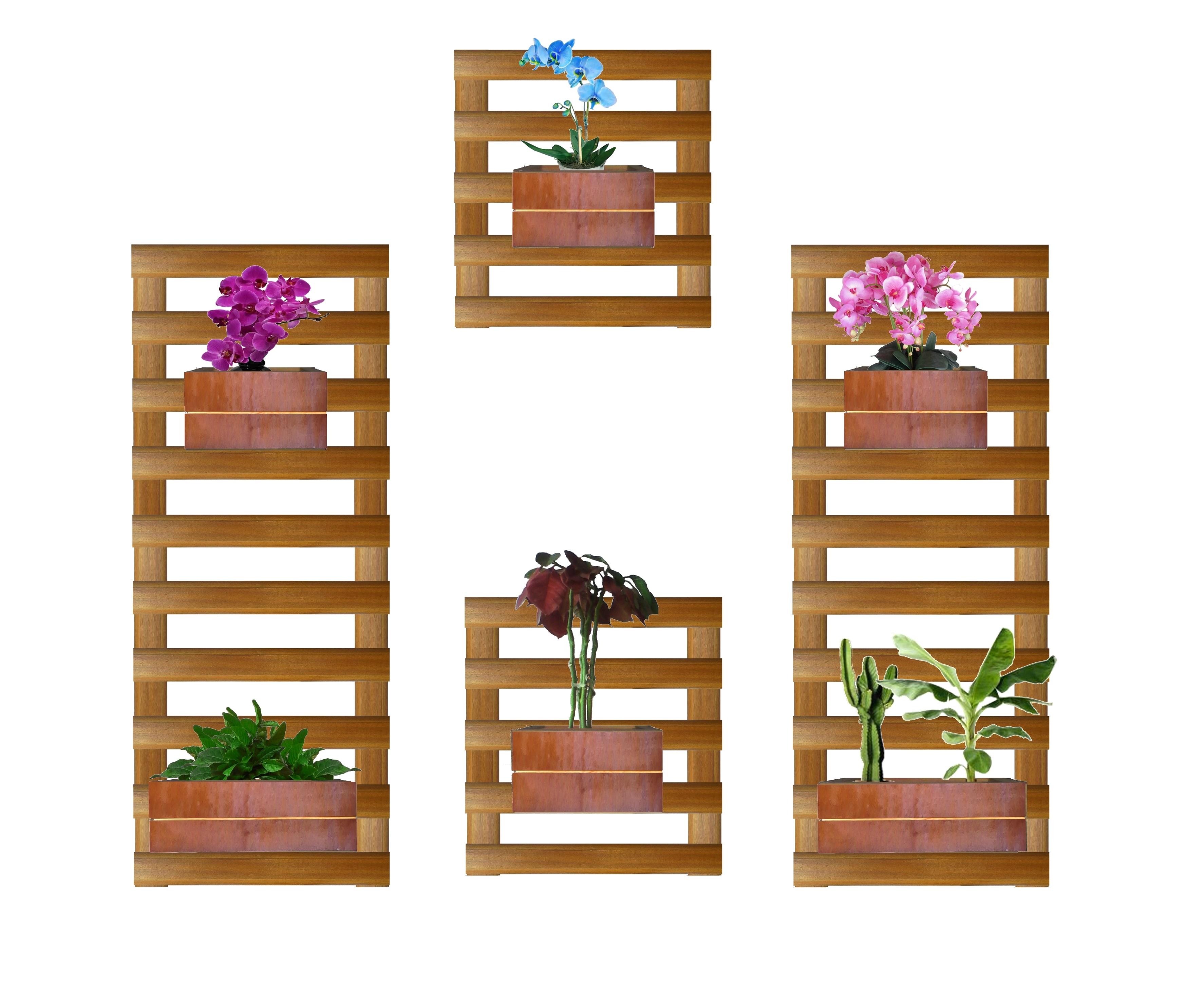 Jardim Vertical Inverno 6 Cachep S No Elo7 Jardim Vertical E  -> Floreira Vertical
