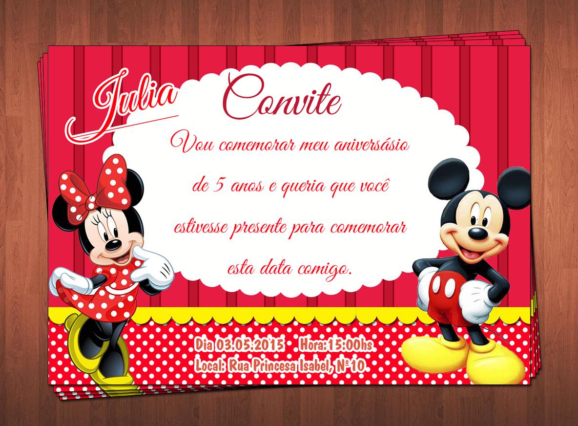 Convite Festa Infantil Elo7
