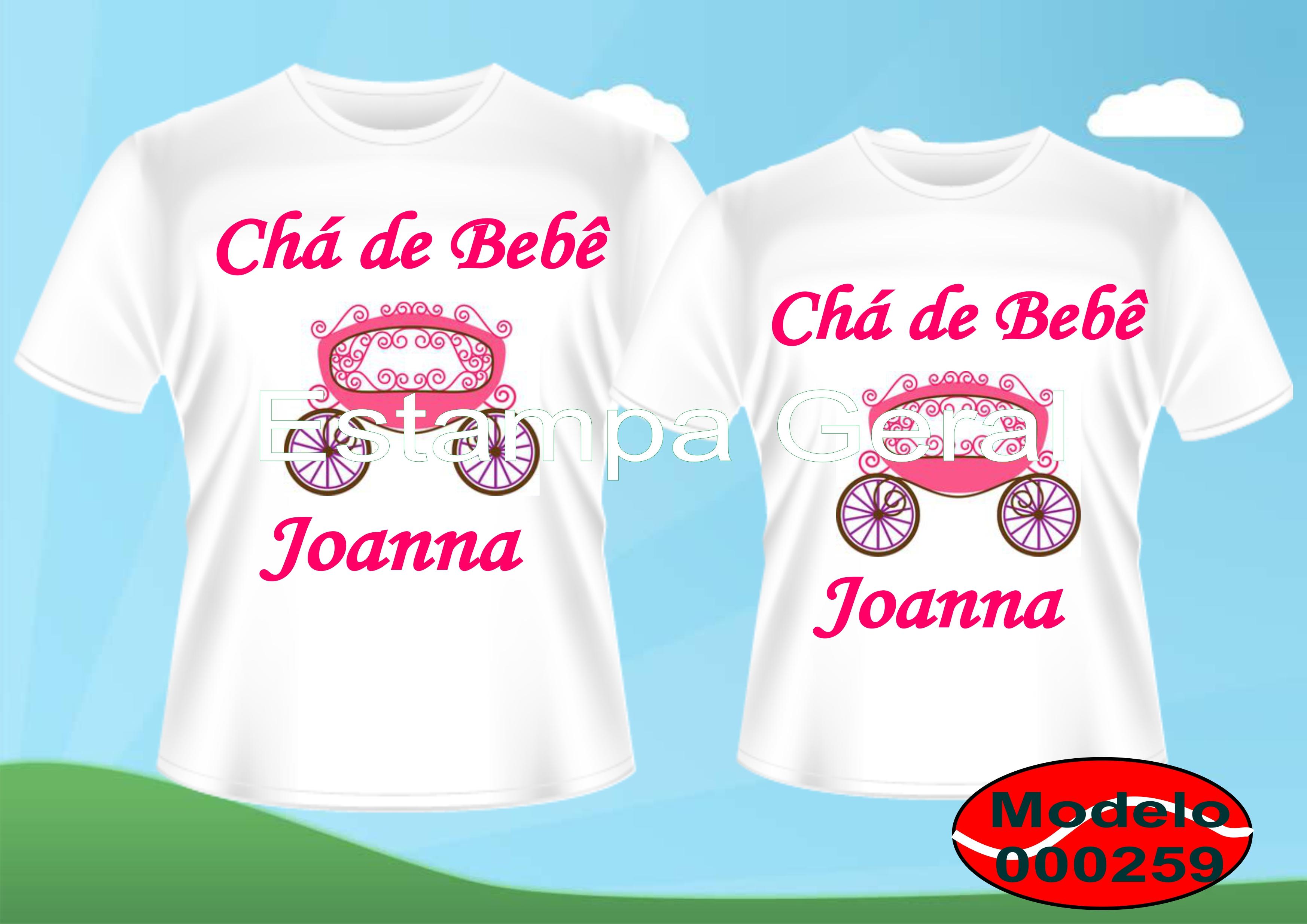 Camiseta Personalizada Para Chá De Bebê Elo7