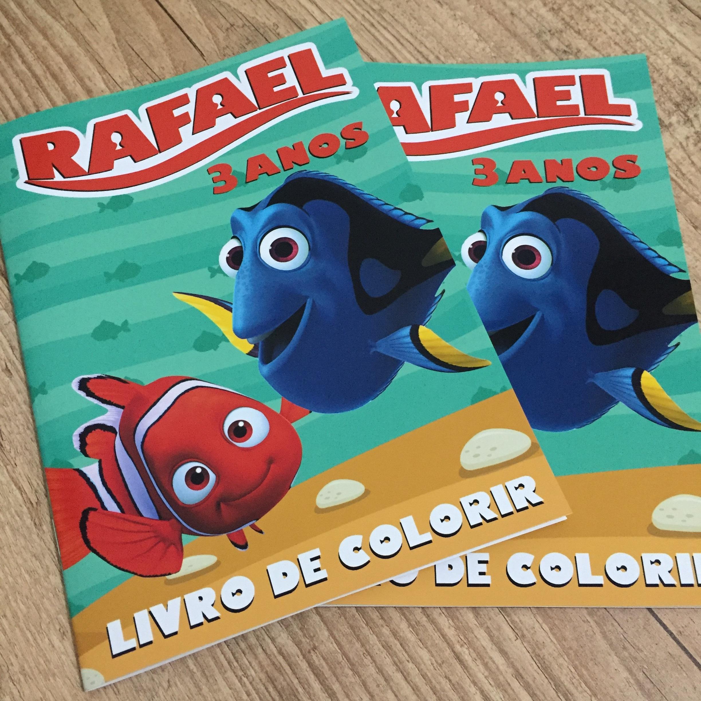 Livro De Colorir Dory E Nemo No Elo7 Dreamland Solucoes