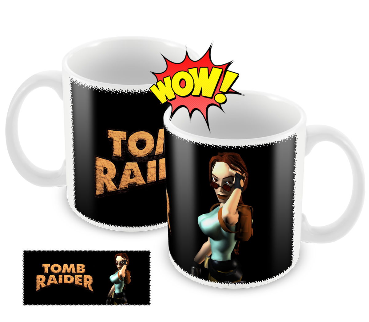 9d569bebebf Caneca Filme Tomb Raider