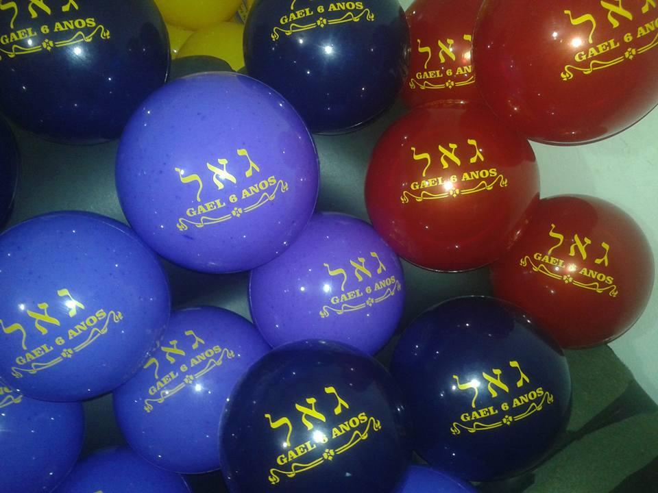 Kit 100 bolas vinil 25cm personalizadas bolas de vinil - Bolas de cristal personalizadas ...