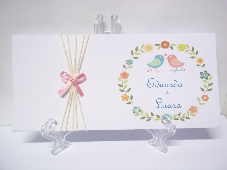 Preferência Convite de casamento Brasão floral no Elo7 | Delart Convites (79FAC1) UO42