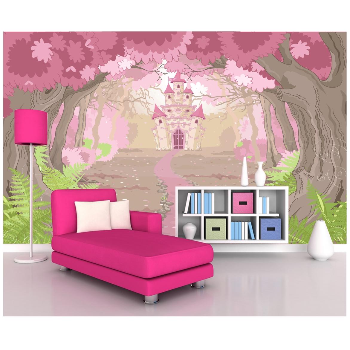 Adesivo Infantil Mural Princesa 6m 35 No Elo7 Quartinhodecorado