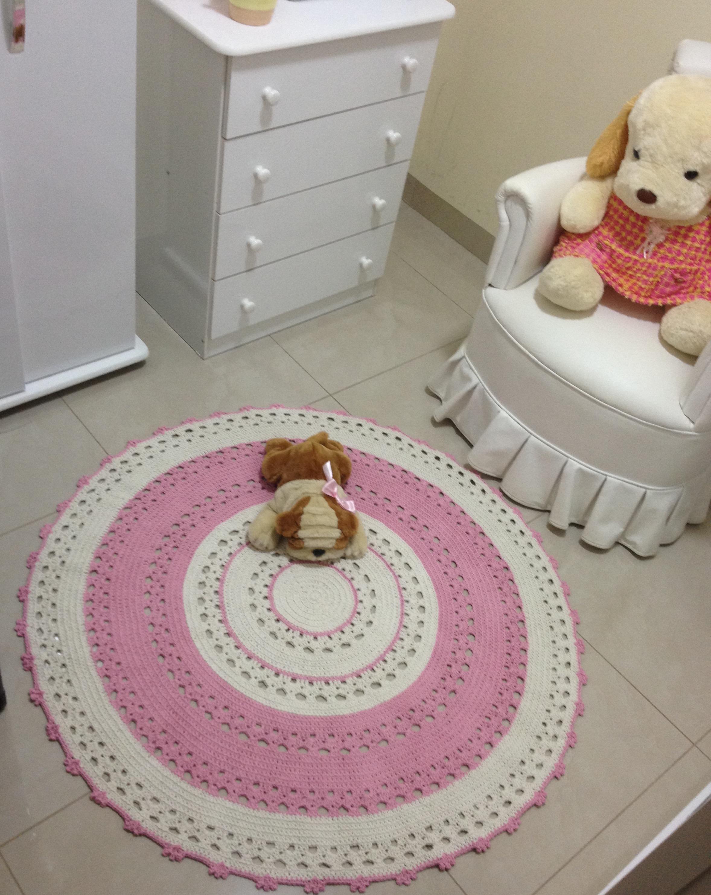 tapete de croche baby karina ateli vera peixoto elo7. Black Bedroom Furniture Sets. Home Design Ideas