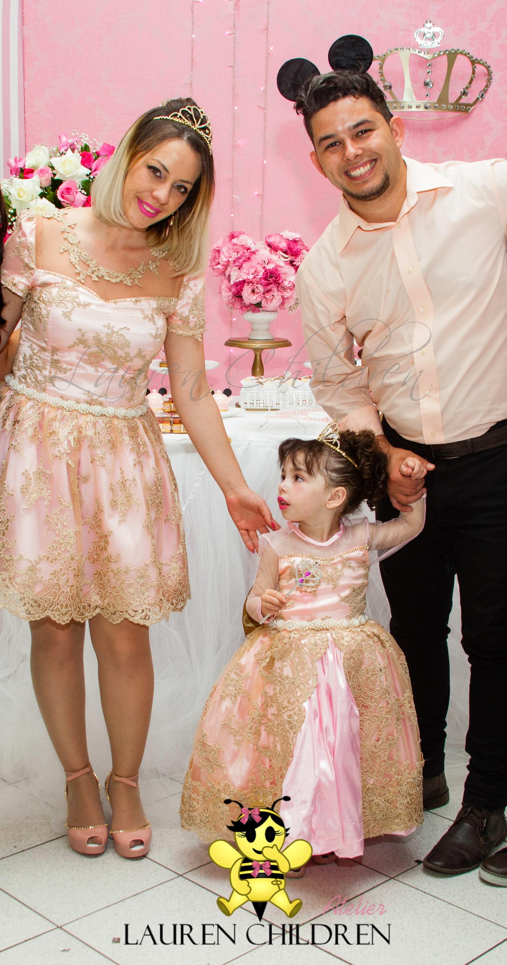 9501f86fdf8b60 Vestido Mae e Filha Princesa | Elo7
