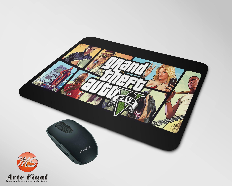 Mouse Pad Personalizado GTA 5